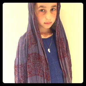 Accessories - Tibetan print scarf